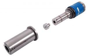 Exemplu scula coining countersink (zenc) Thick Turret cu insert detasabil pentru masini de stantat CNC