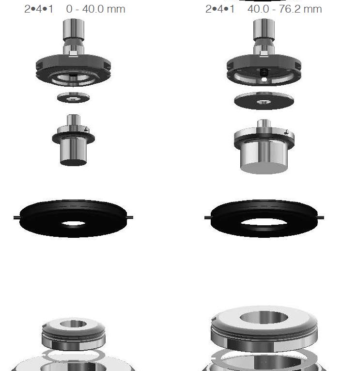 Cele 2 sisteme WIlson 241 ( 40 mm)