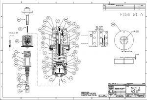 Desen ansamblu la scula filetare statie C Wilson Tool QuickTap